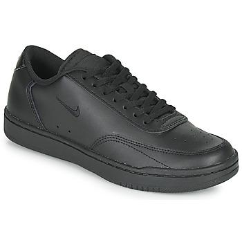 Shoes Women Low top trainers Nike COURT VINTAGE Black