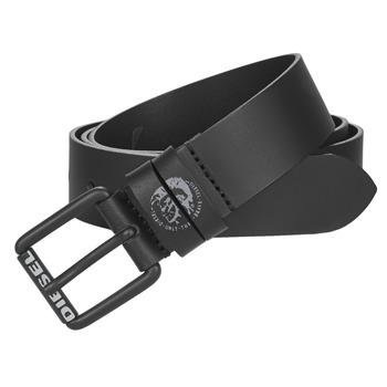 Clothes accessories Men Belts Diesel LAMON Black