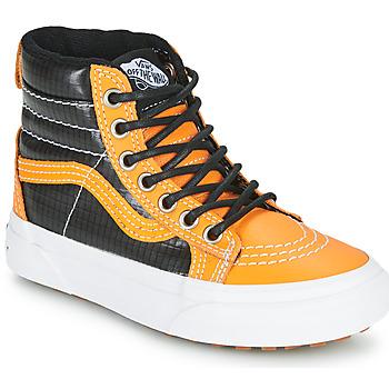 Shoes Boy Hi top trainers Vans SK8-HI MTE Camel / Black