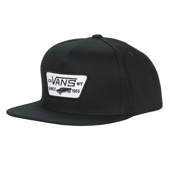 Clothes accessories Men Caps Vans FULL PATCH SNAPBACK Black