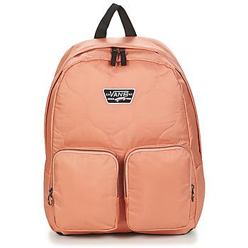 Bags Women Rucksacks Vans LONG HAUL BACKPACK Pink / Dawn