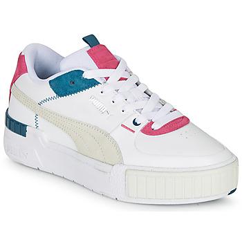 Shoes Women Low top trainers Puma CALI SPORT White / Grey