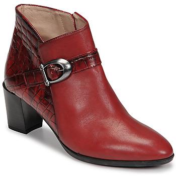 Shoes Women Ankle boots Hispanitas PIRINEO Red