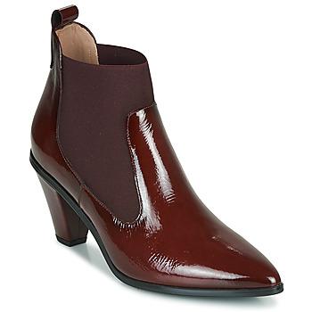 Shoes Women Ankle boots Hispanitas OLIMPO Bordeaux