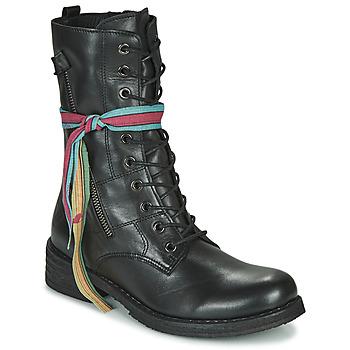 Shoes Women Mid boots Felmini COOPER Black