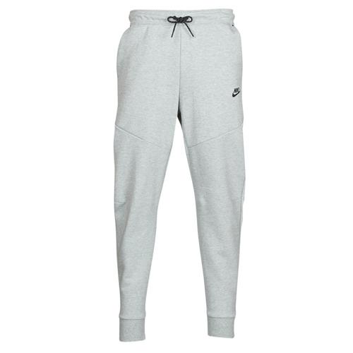 Clothing Men Tracksuit bottoms Nike M NSW TCH FLC JGGR Grey