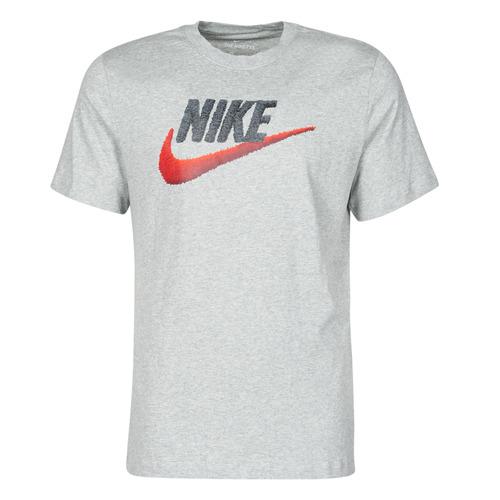 Clothing Men Short-sleeved t-shirts Nike M NSW TEE BRAND MARK Grey
