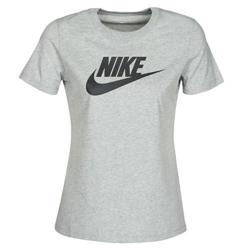 Clothing Women Short-sleeved t-shirts Nike W NSW TEE ESSNTL ICON FUTUR Grey