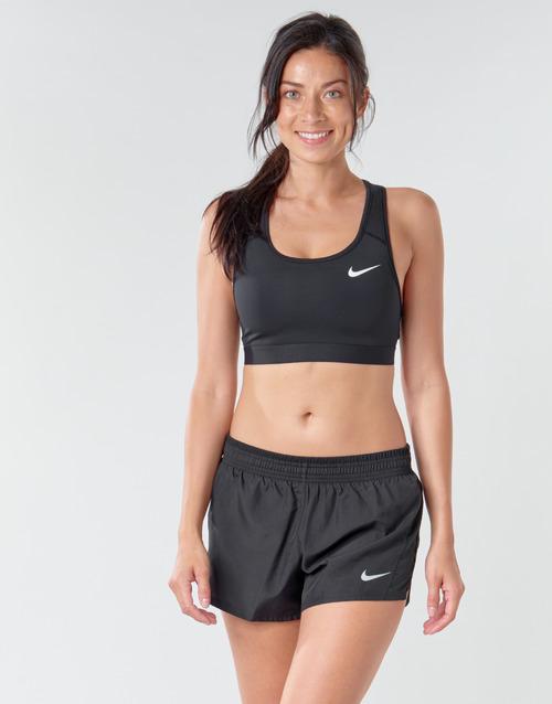 Clothing Women Sport bras Nike NIKE SWOOSH BAND BRA NON PAD Black