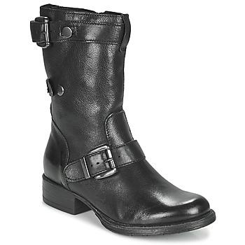 Shoes Women Mid boots Dream in Green NARAMEL Black