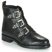 Shoes Women Mid boots Dream in Green NOURAT Black