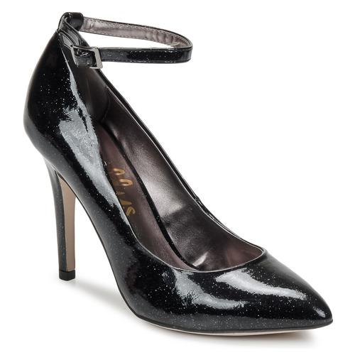 Shoes Women Heels Shellys London STAR Black / Glitter