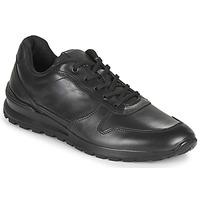 Shoes Men Low top trainers Casual Attitude NOUCHE Black
