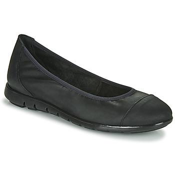 Shoes Women Flat shoes Casual Attitude NOURMI Black