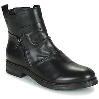 Shoes Women Mid boots Casual Attitude NERMITE Black