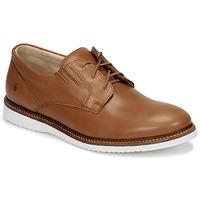 Shoes Men Derby Shoes Casual Attitude NOCCINEL Brown