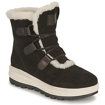 Shoes Women Snow boots Casual Attitude NAREIGNE Black