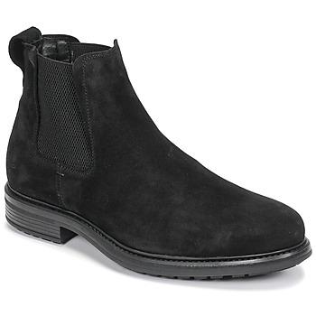 Shoes Men Mid boots Casual Attitude NONILLE Black