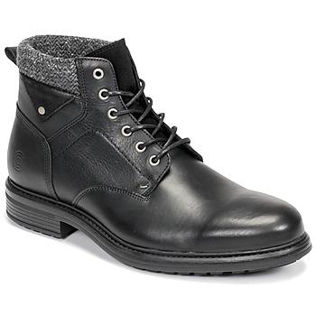 Shoes Men Mid boots Casual Attitude NAPILLON Black