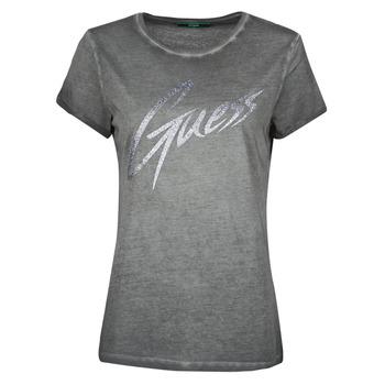 Clothing Women Short-sleeved t-shirts Guess SS CN IVONNE TEE Black