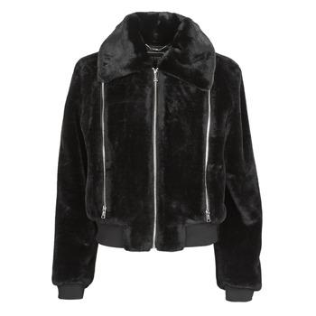 Clothing Women Jackets Guess MIRIAM Black