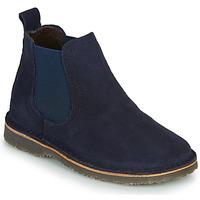Shoes Children Mid boots Citrouille et Compagnie HOVETTE Marine