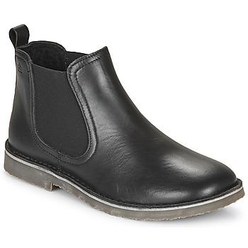 Shoes Children Mid boots Citrouille et Compagnie HOVETTE Black