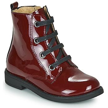 Shoes Girl Mid boots Citrouille et Compagnie HEMANU Bordeaux