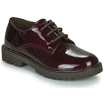 Shoes Girl Derby Shoes Citrouille et Compagnie NALIME Bordeaux