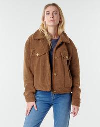 Clothing Women Jackets / Blazers Vila VIABBI Camel