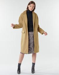 Clothing Women Coats Vila VICALLEE Camel