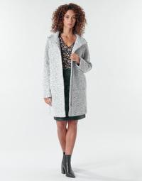 Clothing Women Coats Vila VIMEXA Grey