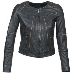 Clothing Women Leather jackets / Imitation leather Kookaï VIDITE Black