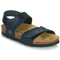 Shoes Boy Sandals Citrouille et Compagnie BELLI JOE Blue