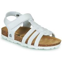 Shoes Girl Sandals Citrouille et Compagnie JANISOL White