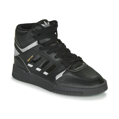 Shoes Low top trainers adidas Originals DROP STEP Black / Silver