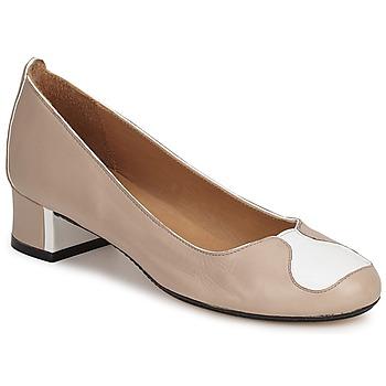 Shoes Women Heels Robert Clergerie SALSA Beige white