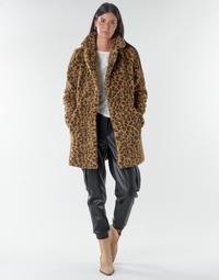 Clothing Women Coats Noisy May NMGABI Brown