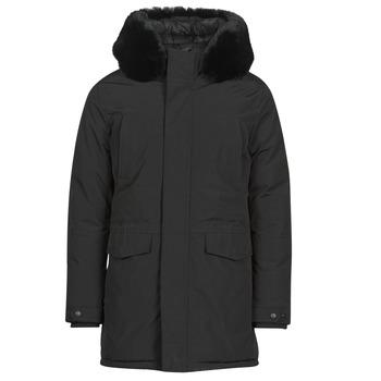 Clothing Men Parkas Yurban NAFFO Black