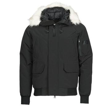 Clothing Men Duffel coats Yurban NIFFO Black