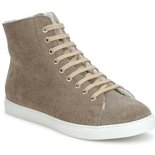 Shoes Hi top trainers Swamp MONTONE SUEDE Grey
