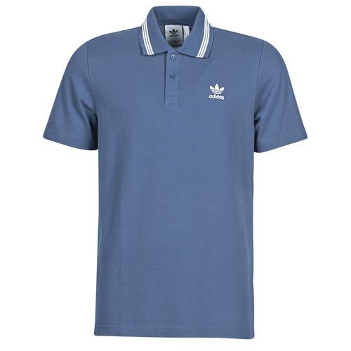 Clothing Men Short-sleeved polo shirts adidas Originals PIQUE POLO Blue