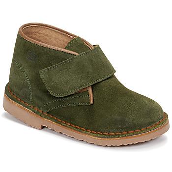 Shoes Boy Mid boots Citrouille et Compagnie NANUP Kaki
