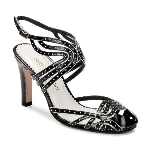 Shoes Women Sandals Sarah Chofakian WINGS Black / Gold