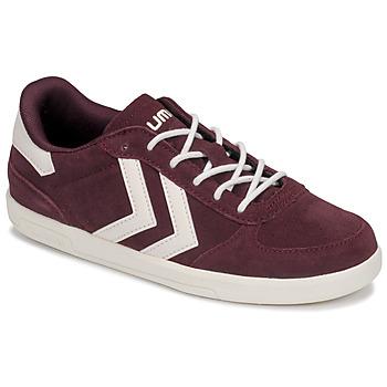 Shoes Children Low top trainers Hummel VICTORY JR Bordeaux