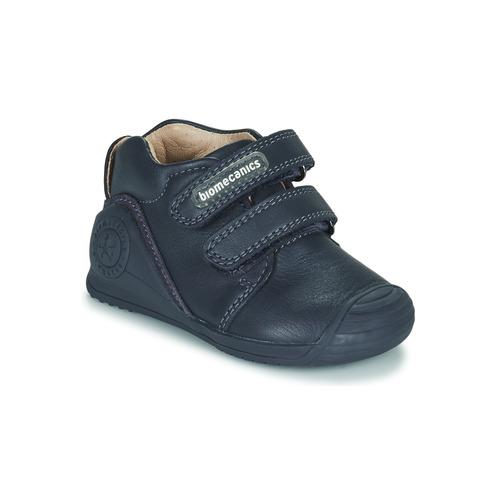 Shoes Children Low top trainers Biomecanics BOTIN DOS VELCROS Marine