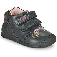 Shoes Girl Low top trainers Biomecanics BOTIN TWIN Marine