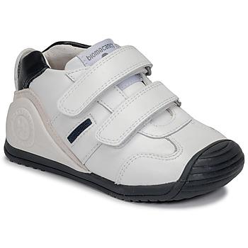 Shoes Boy Low top trainers Biomecanics BIOGATEO SPORT White