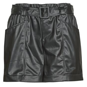 Clothing Women Shorts / Bermudas Liu Jo WF0104-E0392 Black