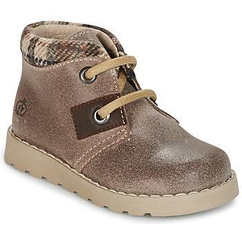 Shoes Boy Mid boots Citrouille et Compagnie ZANZIB Taupe